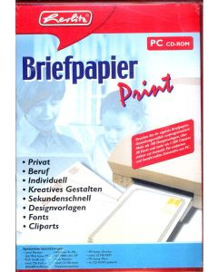 Herlitz Briefpapier Print PC CD-ROM