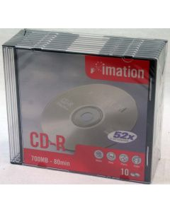 Imation CD-R 700MB 52X 80min 30x Rohlinge in 3x10 Jewel Case
