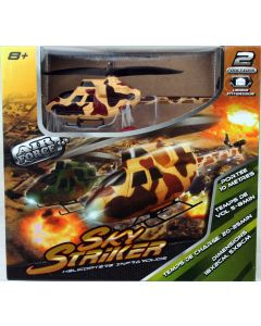 RC Hubschrauber Air Force Sky Striker Helicopter beige