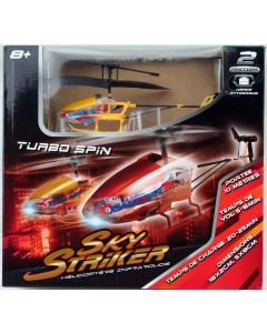 RC Hubschrauber Turbo Spin Helicopter gelb