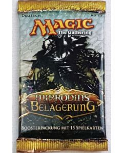 4x Magic The Gathering Mirrodins Belagerung Booster Deutsche Ausgabe