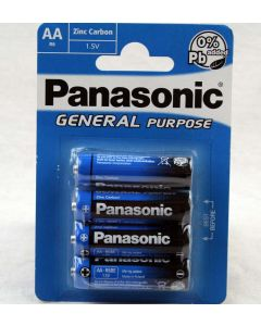24x Panasonic Batterie Zink-Chlorid R6 Mignon AA  1,5V ohne Blei