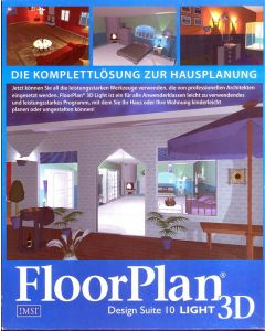 PC FloorPlan Design Suite 10 Light 3D