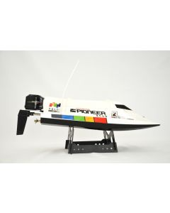 """RC Racing Boot """"Pioneer"""", super schnell - mit Lipo -weiss"""