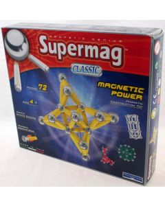 Plastwood 0335 - Supermag Classic Magnetic Power 72 Teile