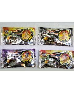 4x WWE Power Chipz Booster, 3 Chips pro Booster Packet, 12 Chips von Topps