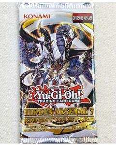 Yu-Gi-Oh Hidden Arsenal 7 Booster Knight of Stars Deutsche Ausgabe